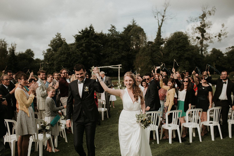 mariage au manoir de la foulerie