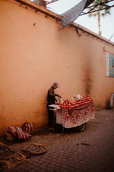 marrakech vendeur